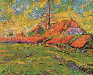 Reproduction Tableau Sur Toile : reproduction de heckel the brickyard 68x86cm ~ Dailycaller-alerts.com Idées de Décoration