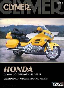 Honda Gl1800 Gold Wing Repair Manual 2001-2010