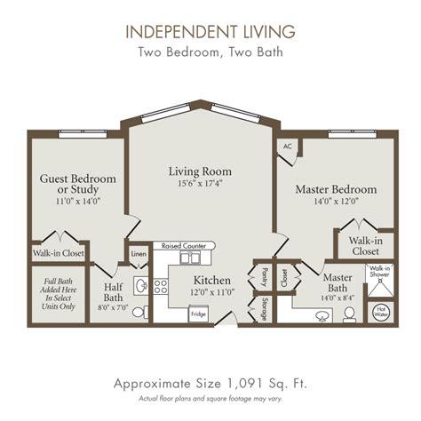 independent living floor plans senior care homes houston tx