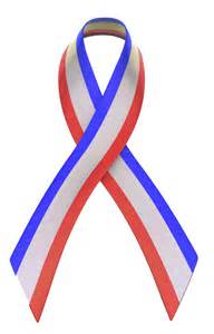 Red White and Blue Ribbon Clip Art