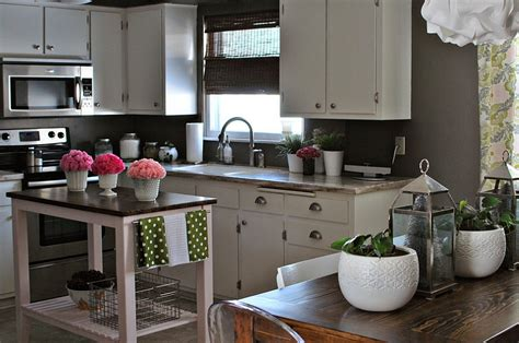kitchen island with butcher block top 24 tiny island ideas for the smart modern kitchen