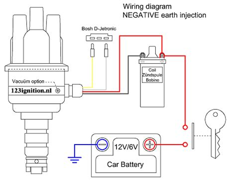 Vw Distributor Wiring Diagram by 123ignition