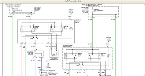 S10 Power Window Wiring Diagram by I A 2001 Chevy Tahoe Both Of The Electric Windows On