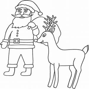 santa claus color page - the holiday site santa claus coloring pages