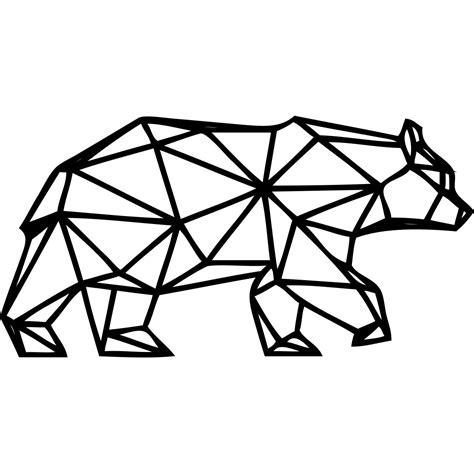 couleur de mur de cuisine sticker ours polaire origami stickers et design