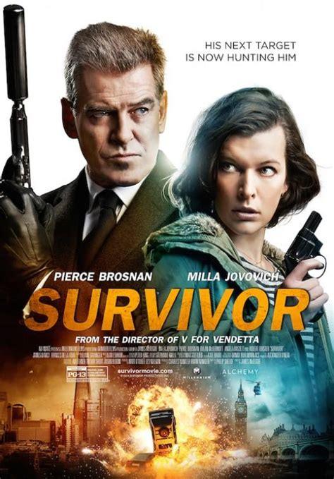Película Survivor (2015)  La Sobreviviente