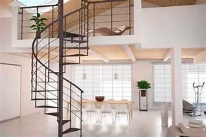 Escalier Colimaçon Beton : prix d 39 un escalier h lico dal colima on en bois b ton ou acier ~ Melissatoandfro.com Idées de Décoration