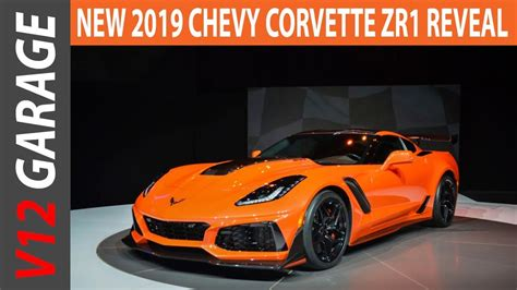 Wow Amazing !! 2019 Corvette Zr1 Reveal Gallery Youtube