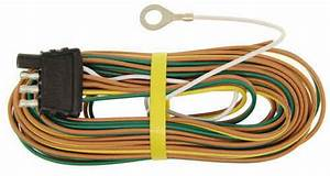 20 Ft 4-way Trailer Wiring Harness - Wishbone Style