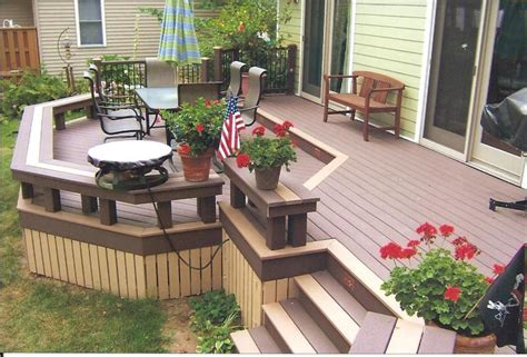 trex deck designs pictures trex deck design images