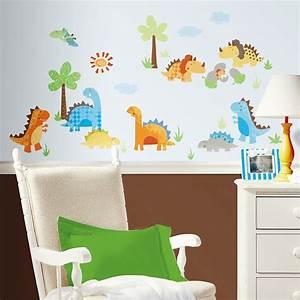 Wandtattoo Elefant Kinderzimmer : roommates wandsticker wandtattoo baby dinosaurier kinderzimmer deko www 4 ~ Sanjose-hotels-ca.com Haus und Dekorationen