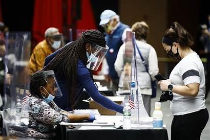 Election Philadelphia Pennsylvania Voters Primary Workers Poll
