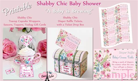 shabby chic coupon codes and 1 2 off coupon shabby chic baby shower a baby is brewing baby
