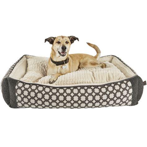pet bed grey nester orthopedic bed petco