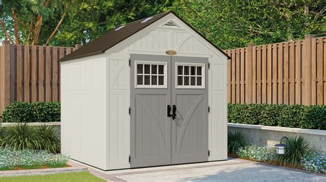 suncast sutton 7x7 shed 378 cu ft tremont 174 8 x 7 storage shed suncast 174 corporation