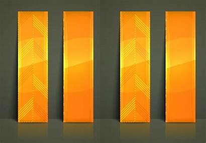Banner Vertical Designs Template Templates Psd