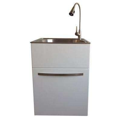 stainless steel utility sinks accessories plumbing