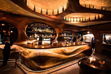 award bar raval architect magazine wood fabrication