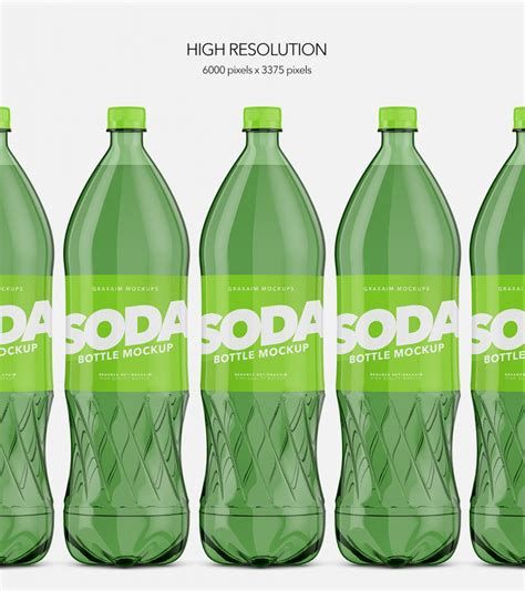 The best bottle mockups free download for your next project. Packreate » Soda Bottle Pet - Mockup