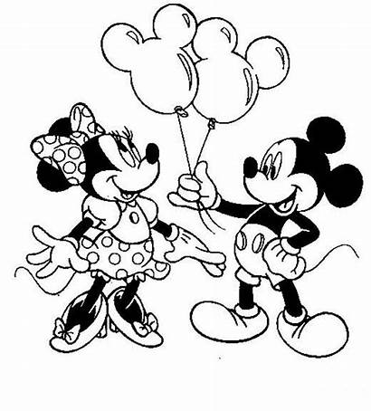 Minnie Mouse Coloring Birthday