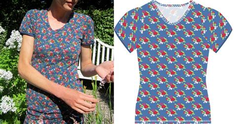 pattern puff sleeve  shirt sewing