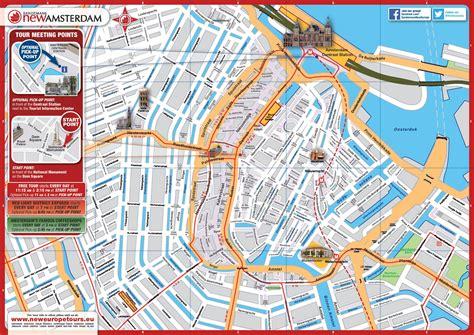 Carte De Pdf by Plan Gratuit De Amsterdam Pdf 224 T 233 L 233 Charger