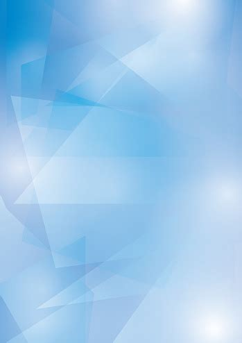 Abstract Blue Vector Background With Transparent Geometric