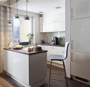Küchenzeile Mit Kochinsel : einrichtungstipps f r kleine k che 25 tolle ideen und bilder ~ Orissabook.com Haus und Dekorationen