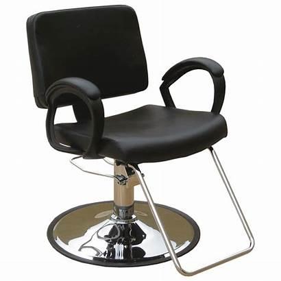 Salon Chair Hairdresser Clipart Equipment Styling Base