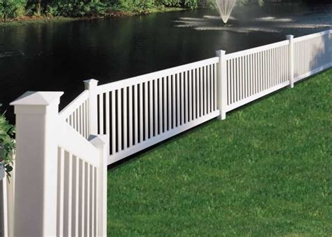 vinyl fence cost cost for vinyl fence installed 187 fencing
