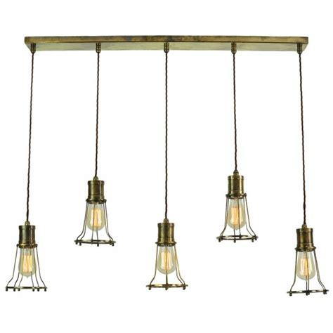 industrial style kitchen pendant lights 5 light mutiple pendant breakfast bar light with metal 7521