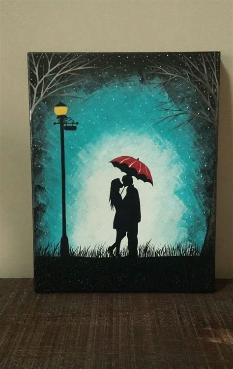 40 Easy Canvas Painting Ideas For Art Lovers  Art
