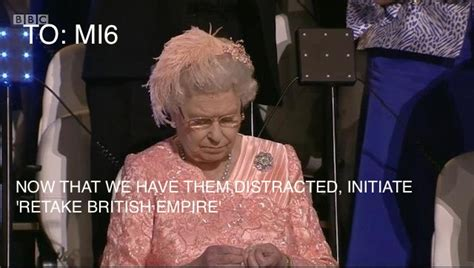 7 Queen of England Memes (From The Olympics Opening Ceremony)