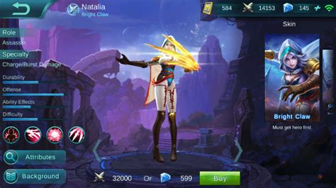 Natalia (mobile Legends) ~requested~ Minecraft Skin