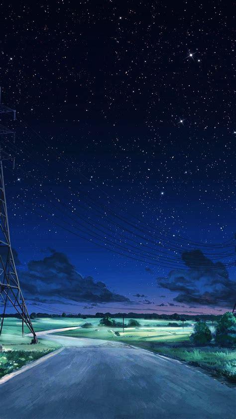 aw arseniy chebynkin night sky star blue illustration