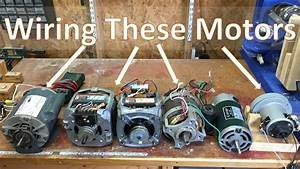 How To Wire Most Motors For Shop Tools And Diy Projects