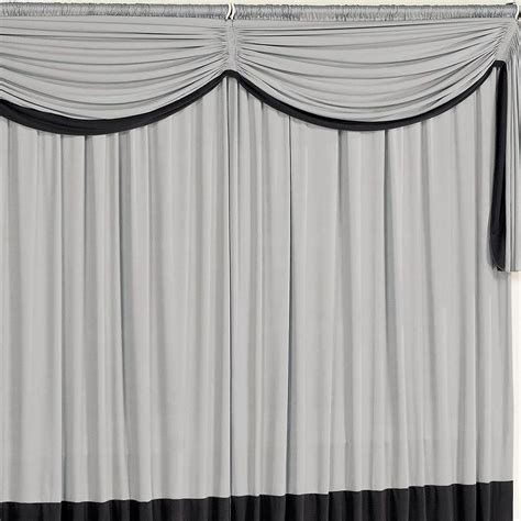 cuisinez de a à z cortina para sala e quarto preto e cinza 3 metros em malha