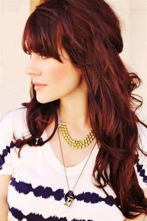 herbsttyp farbpalette der herbst im haar