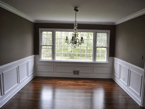 dining room wall trim ideas