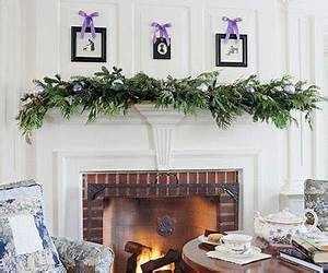 NESTERS Christmas Mantel Decor Ideas from Better Homes