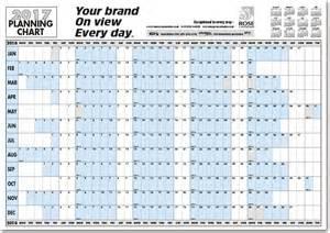 2017 Printable Wall Planner