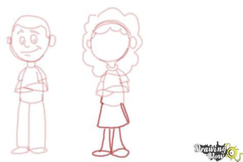 draw cartoon people drawingnow