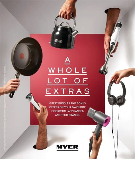 Myer Catalogue Home Appliances February 2017
