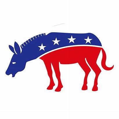 Donkey Democratic Transparent Democrat Stronger Together United