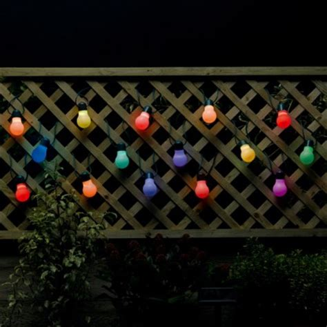 colour change solar lights