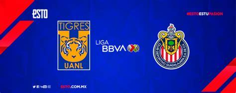 Tigres vs Chivas: Horario, fecha y transmisión, Liga MX ...