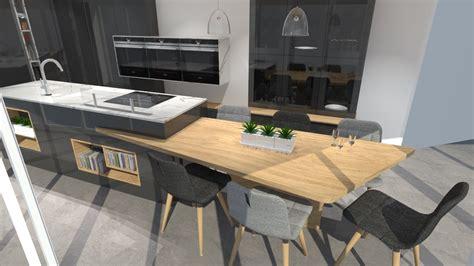 table travail cuisine ilot cuisine inox cuisine en inox en stratifi avec lot