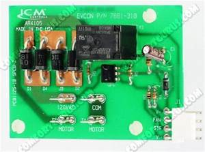 Coleman Source 1 Evcon Blend Air Upper Control Board With