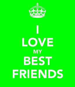 I LOVE MY BEST FRIENDS Poster | jess | Keep Calm-o-Matic