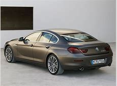 6 Series Gran Coupe F06F12F13 6 series BMW Base